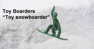 人気のToy Boardersにスノーボーダーが仲間入り!